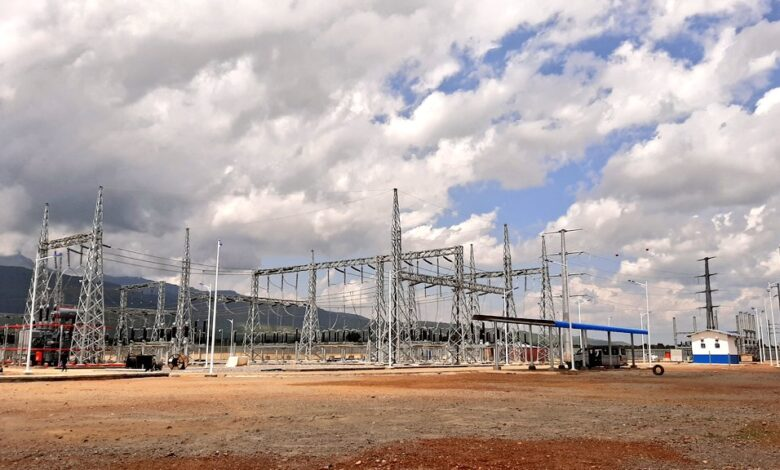 Nadunget power sub station in Moroto